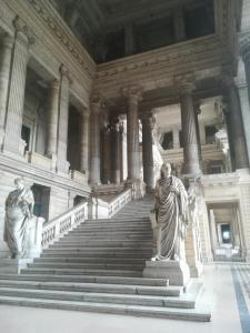 Evropský soud - hlavní vstup