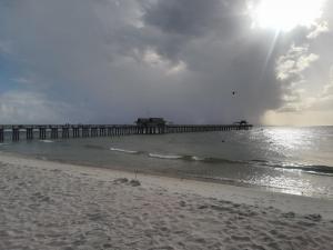 Naples beach - pier