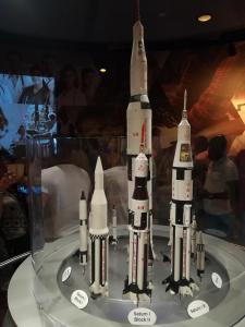 Porovnání velikostí raket