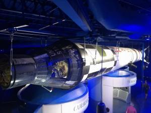 Raketa včetně modulu
