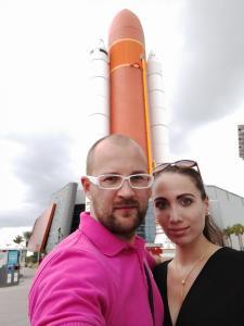 Rakety a palivová nádrž raketoplánu