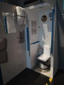 Záchody v raketoplánu