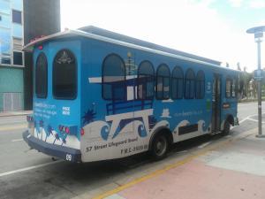 Miami Beach busík